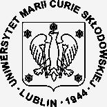 Герб - Университет Марии Кюри-Склодовской – 1