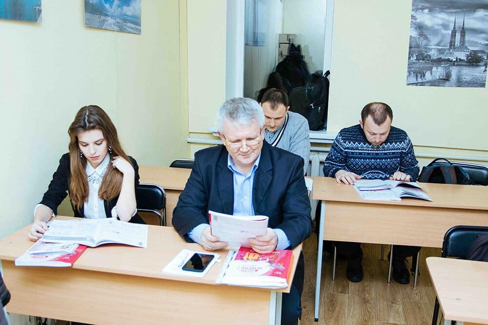 Курсы польского языка в Киеве - аудитория - фото - 26