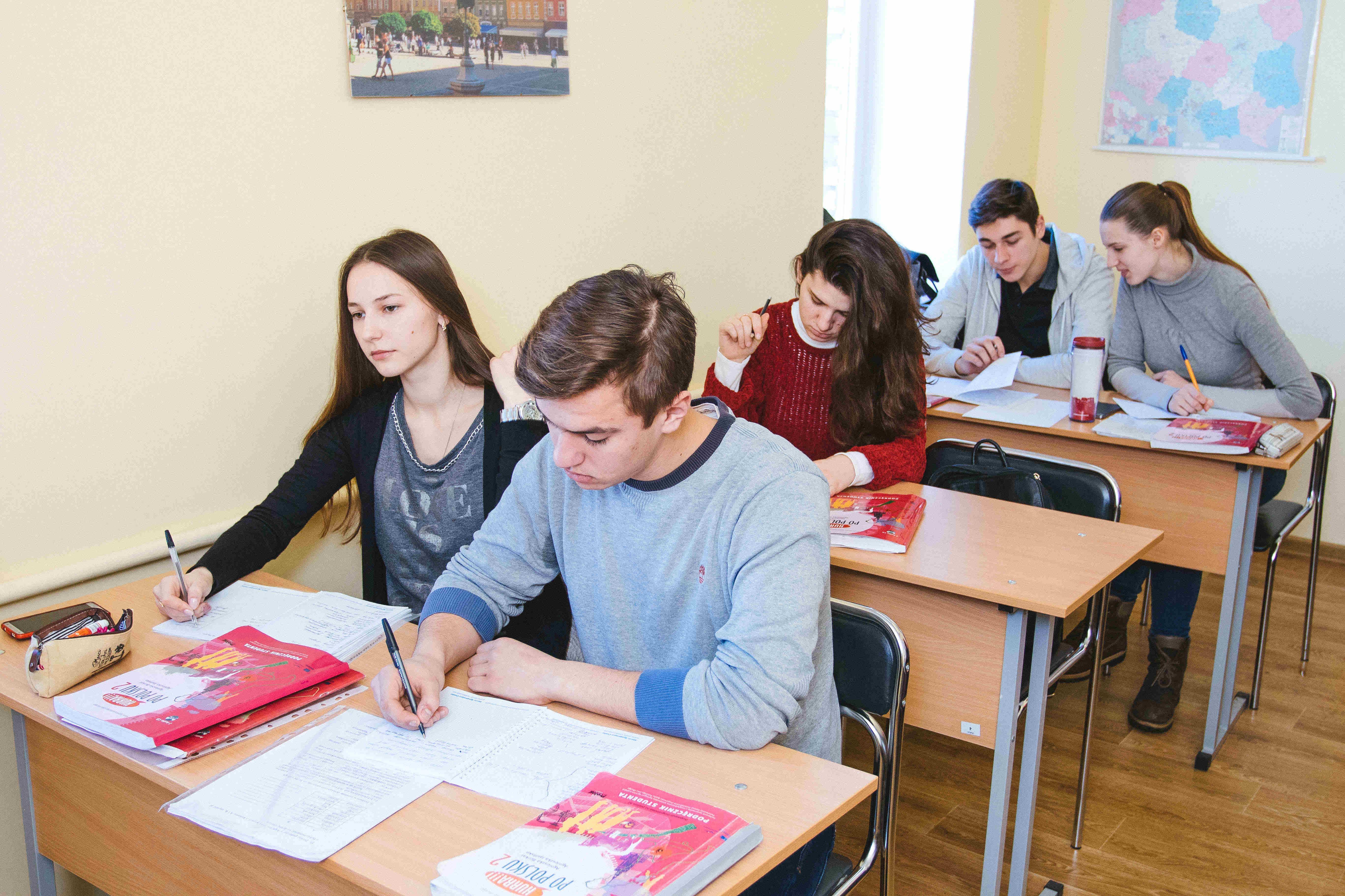 Курсы польского языка в Киеве - аудитория - фото - 28